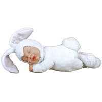 "Anne Geddes Dolls -9"""" Bunny Snow"
