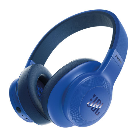 JBL-Bluetooth-Headphone--E55BT-Blue