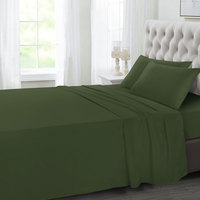 Tendance's Fitted Sheet Double Green 137X193
