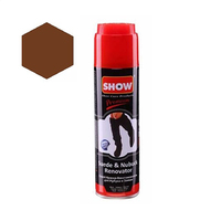 Show Suede & Nubuck Renovator Brown Spray 200ML