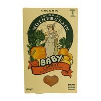 Quinola Mothergrain Organic Baby Carrot, Red Lentil & Quinoa 190g