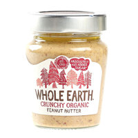 Whole Earth Crunchy Organic Peanut Butter 227G