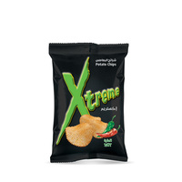 Xtreme Potato Chips Hot Flavor 55g