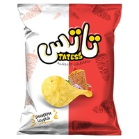 Tattes Shawerma Potato Chips Family Size - 60 gm