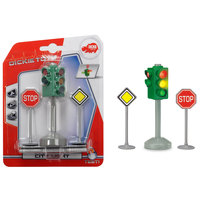 Dickie B/O City Stop Traffic Light Accessories