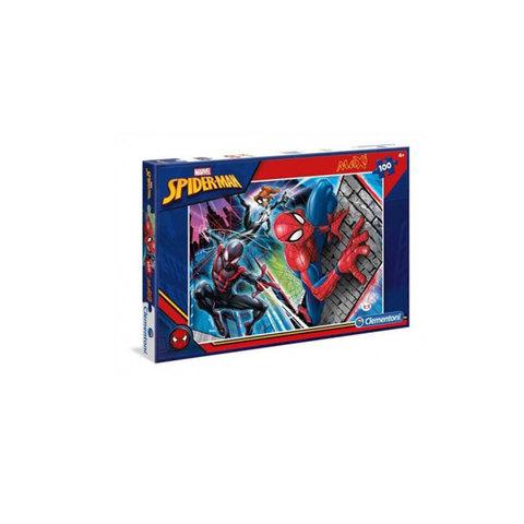Clementoni-Puzzle-Spider-Man-100-Maxi-Pieces