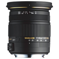 Sigma Lens 17-50MM F/2.8EX DC For Canon