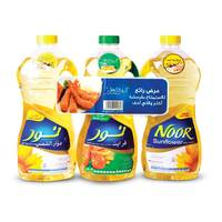 Noor sunflower oil 1.8 L x 2 + fryit 1.8 L