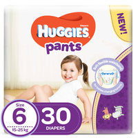 Huggies Pants Diapers Size 6 15-25 kg 30 Count