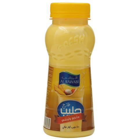 Al-Rawabi-Fresh-Milk-Mango-Lychee-200-ML