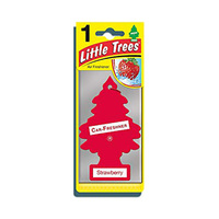 Little Trees Air Freshener Strawberry Made In Usa