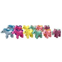 Aimantine 12Pcs Mini Pony In 1M PVC Tube