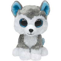 Ty Beanie Boos SLUSH HUSKY DOG - Medium 9""