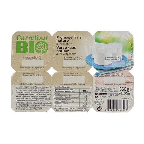 Carrefour-BIO-Soft-Cheese-60gx6