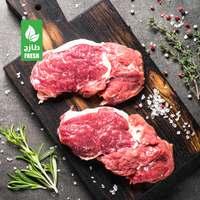 لحم بقري طازج محلي - شرائح من الظهر (للكيلو)