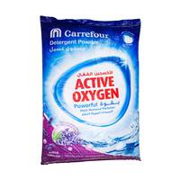 Carrefour Detergent Powder Top Load Lavender Poly Bag 15kg