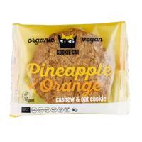 Kookie Cat Organic Vegan Pineapple and Orange Kashew and Oat Cookie 50g