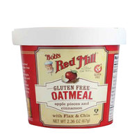 Bob's Red Mill Gluten Free Oatmeal Apple & Cinnamon 67g