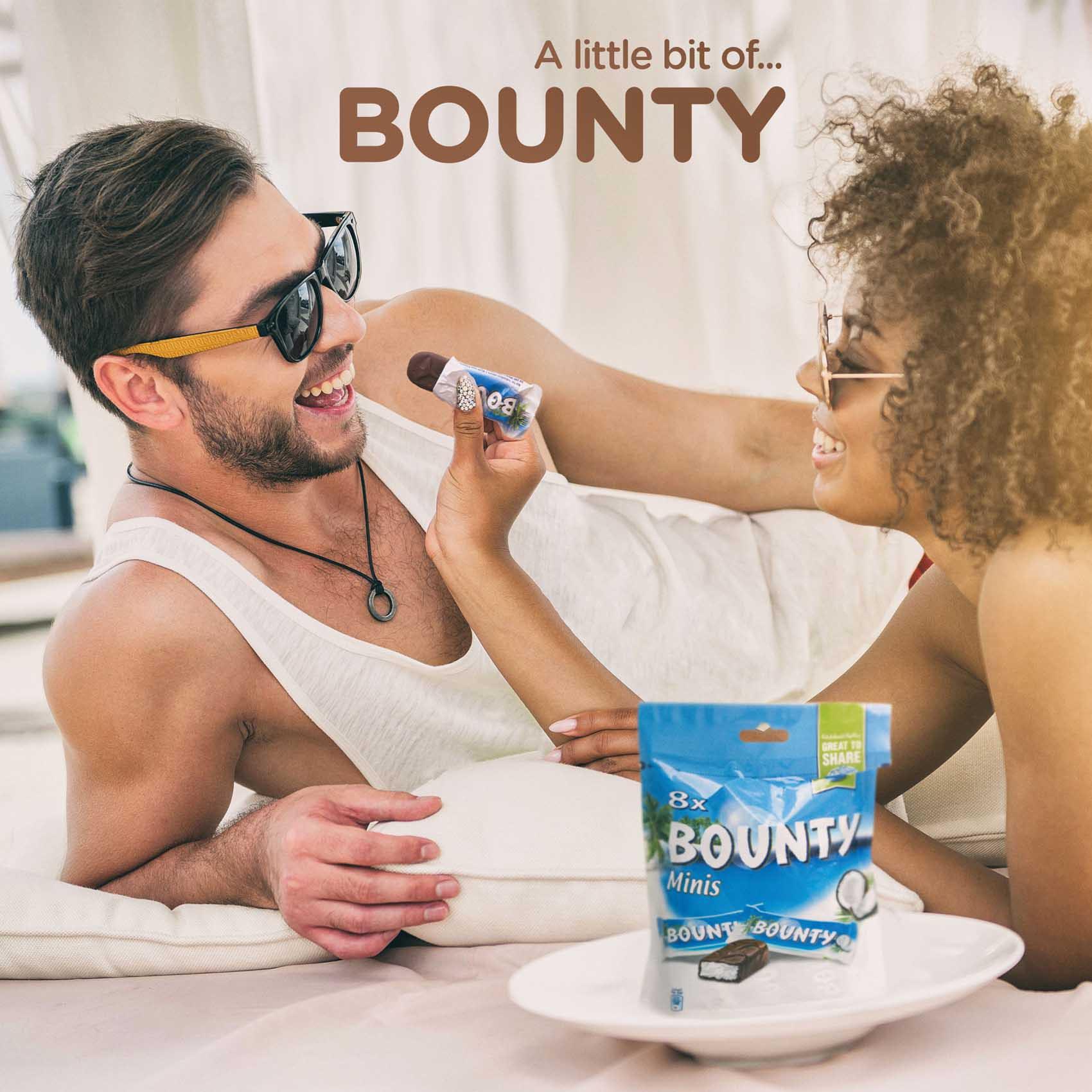 BOUNTY MINIS 228G