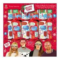 "Tom Smith 6 X 12"" Festive Photo Fun Crackers"