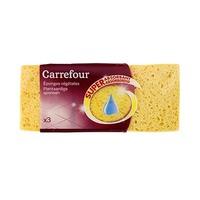 Carrefour Eponges Vegetables Super Absorbant X3