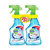 Dettol Healthy Glass Cleaner 2 X500ML-20%