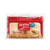 لوزين خبز الساندويتش سكويرز الأبيض 252 جرام