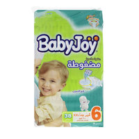BabyJoy Diapers Giant Size 6 Junior Pack XXL 38 Dipers