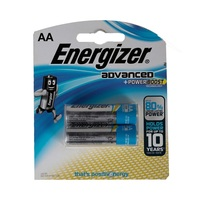 Energizer Advanced Titanium Battery AA X91 Pack Of 2 Pieces