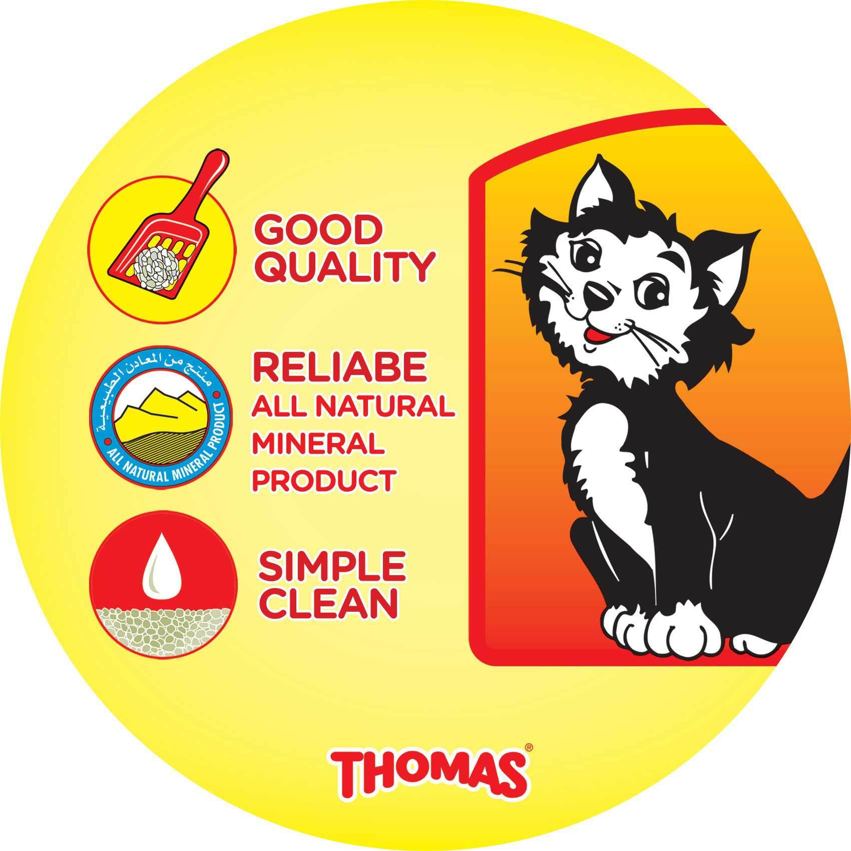 THOMAS CAT LITTER CLUMPING 5KG