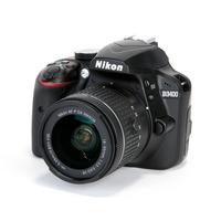 Nikon SLR Camera D3400+ 18-55 mm lens+ Tripod+ 8GB Memory Card+Case