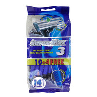 Supermax Disposable Razors 14 Razors
