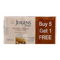 Jergens Softening Musk Soap 125gx6