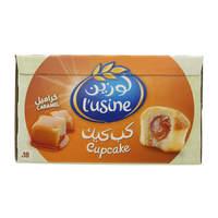 Almarai Lusine Soft Cupcake With Caramel Filling 33g x18