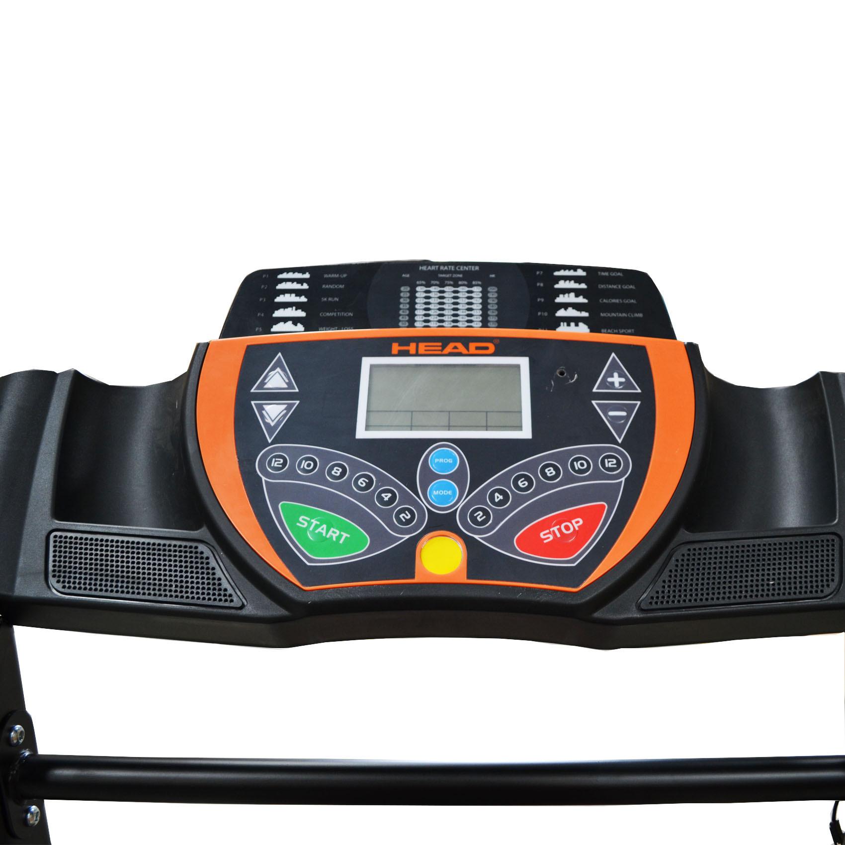 HEAD TREADMILL W/ AUTO INCLINE 2HP