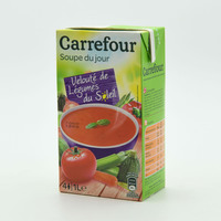 Carrefour Cream Of Vegetable Soup 1 L