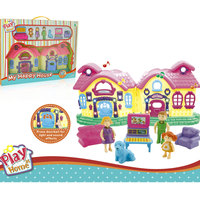 Power Joy Playhome Villa 56.5X42X7Cm B/O
