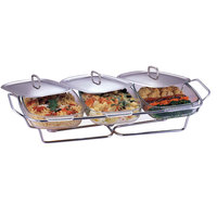 Food Warmer With 3 X 1.5 Lts Pyrex Bowls