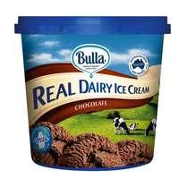 Bulla Real Dairy Ice Cream Chocolate 1L