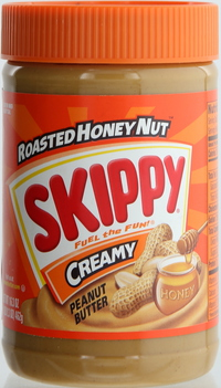 Skippy Roasted Honey Nut Creamy Peanut Butter 462g