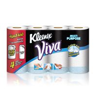 Kleenex Viva Kitchen Ultra Absorbent Towels 4 Rolls