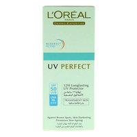 L'Oreal Paris UV Perfect 12H Long Lasting Protector SPF 50 30ml