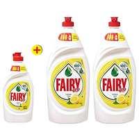 فيري سائل غسيل جلي برائحة الليمون 1 لتر حبتان + فيري سائل غسيل جلي برائحة الليمون 450 مل مجاناً