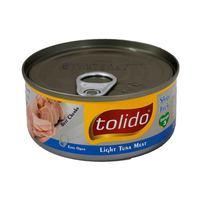 توليدو لحم تونة قطع فاتحة 160 غرام