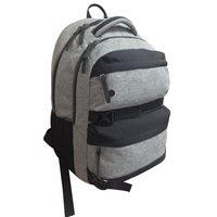 """Janboots Grey Black Backpack 18"""""""
