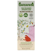 Barbapapa Organic Relaxing Soothing Oil 150ml