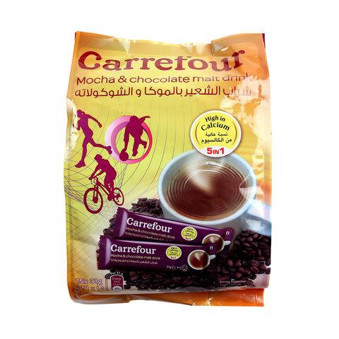 Carrefour-5in1-Mocha-&-Chocolate-Malt-Drink-31gX15