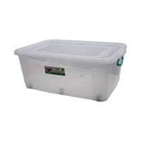 Poly Time Maxi Storage Box With Wheel 60 Liter
