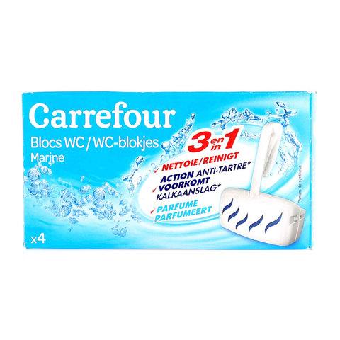 Carrefour-WC-Bloc-Marine-38g-x4