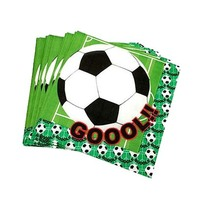 Napkin Football 20 Pieces 100-23114 20PC